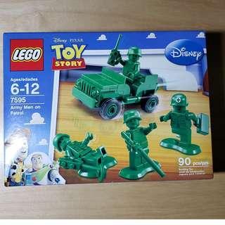 MISB 全新 Lego 7595 Toy Story 反斗奇兵系列 Army Men on Patrol 綠色士兵 (100%靚盒)