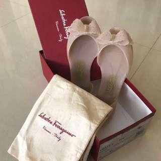 Authentic Salvatore Ferragamo Jelly Shoe