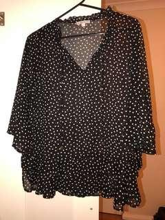 Target blouse size Aus 12