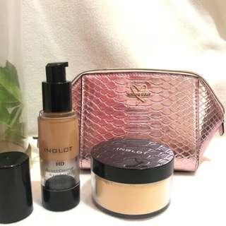 Inglot with FREE Victoria's Secret Cosmetic pouch