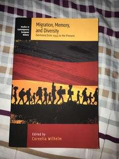 Migration,Memory and Diversity Germany from 1945 to the Present