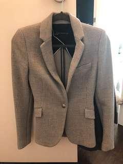 Zara wool grey blazer