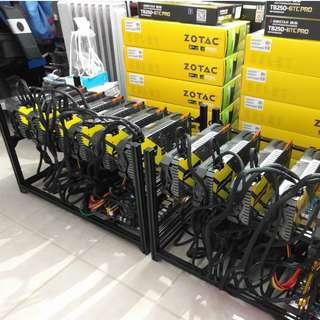 Mining Rig For Sale > 6 x Gtx 1070ti (6 Rigs Available