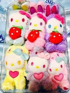 Hello Kitty ❤️️Strawberry🍓Bunny🐰Plushie