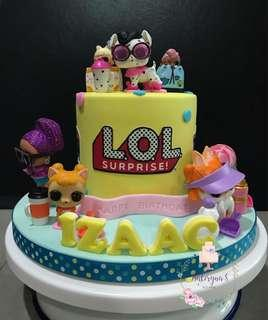 Lol Surprise Doll Cake Babies Kids Carousell Singapore