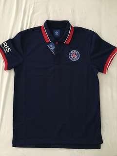 PSG Dark Blue polo jersey ( Small - Men )