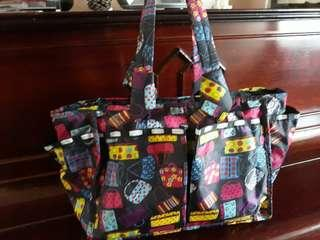 Back pack reversible to handbag