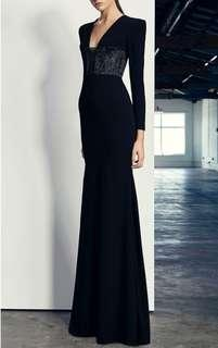 Alex Perry Easton Lurex Gown