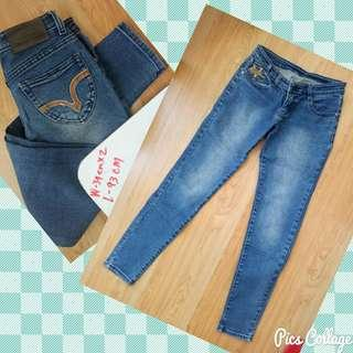 maong Denim pants