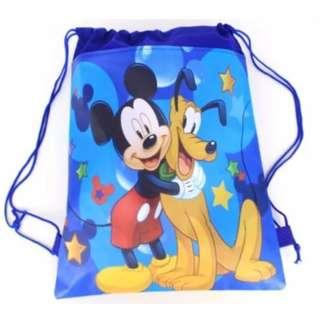 Blue Mickey Mouse bag