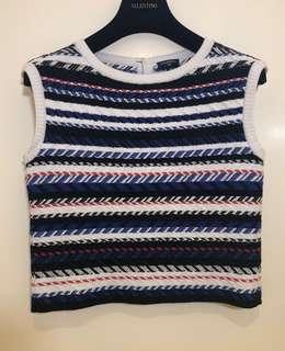 CHANEL TANK SWEATER TOPS BLOUSE 上衣