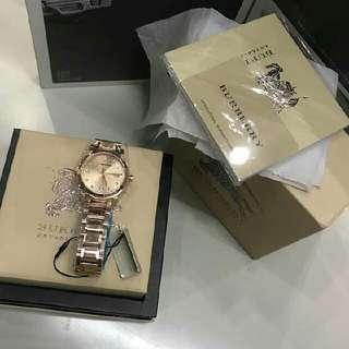 💯 authentic burberry watches onhand from us...sale sale sale