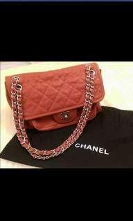 🚚 Chanel 幻彩牛皮3背包 9.5新