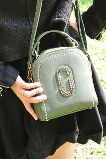 Handbag Korea Style green golden Bling 韓系 女裝 手袋 包包 潮型 閃爍 綠金撞色 熱賣 handbag bigsales #27474o