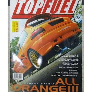 TOP FUEL OLD MAGAZINE