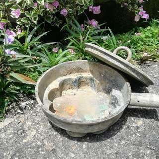 Ber1 Antique Brass Bekas Kuih Tembaga Antik Size Besar