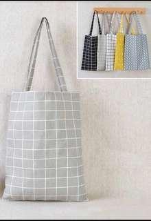 Printed Simple Tote Bag
