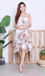 🚚 Floral Spag Mermaid Dress