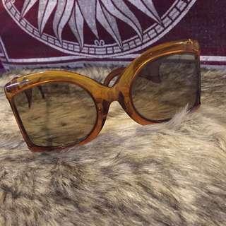 Oversized Vintage Christian Dior Sunglasses Sunnies