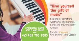 Piano Lesson in Makati
