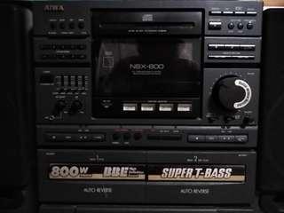 AIWA Hi-Fi  stereo system NSX-800