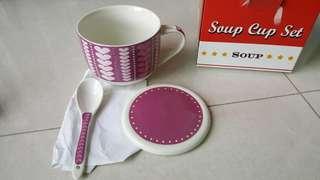 有耳大湯杯 Soup cup set