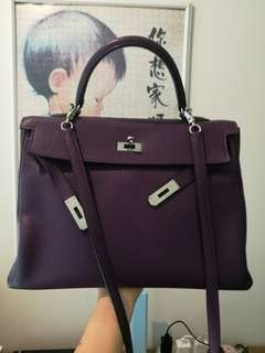 e91a8fa0ac29 Hermes Kelly vintage sz 32 DONT ASK for REC  Z additional strap ...
