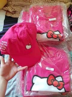 ASSC Anti Social Social Club x Hello Kitty Apparals