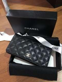 Chanel Caviar Wallet GHW Bifold
