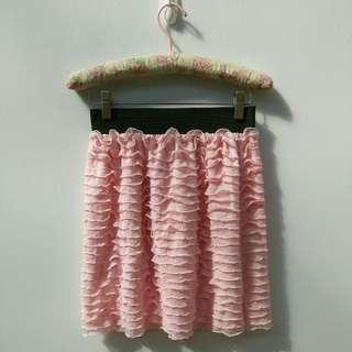 🚚 粉紅色蛋糕裙