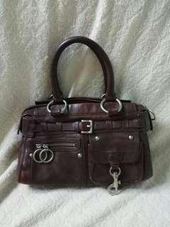Via leather hand bag tas tangan wanita kulit asli genuine leather pundak shoulder