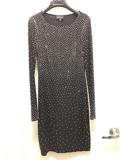 Dress with black studs sz 6 by xscape