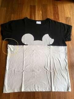 Zara Disney top Shirt size L