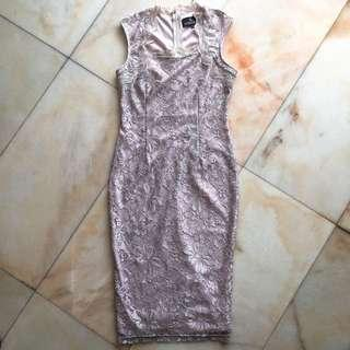 Doublewoot Lilac Lace Dress