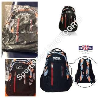 BNIB RSL Backpack Passion 4 Action BLK/ORG