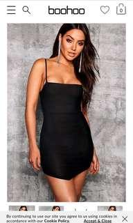 Boohoo dress S6 bnwt