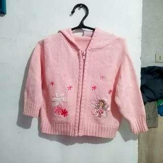 Flower Fairy Hoodie Jacket And Denim Jumper 6-9 Mos. And 3-6 Mos.