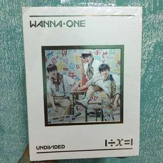 [WTS] WANNA ONE UNDIVIDED TRIPLE POSITION UNSEALED