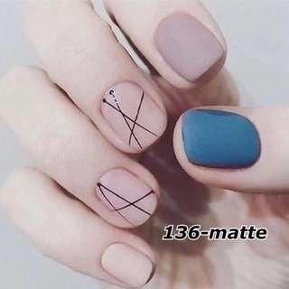 Artificial Hand Fake Nails