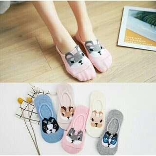 3 (+2 free) korean ankle socks