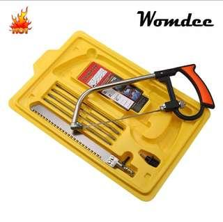Handsaws Set, 9pcs/set Mini DIY Multifunction Hacksaws Bow Saws