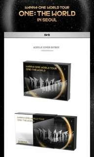 [Loose] Wanna one One The World DVD