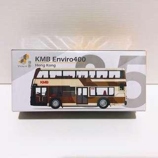 全新未拆 Tiny 微影 #35 第一版 九巴 E400 復古色 巴士 (66 大興)