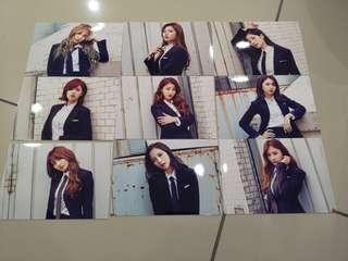 Twice official photoset