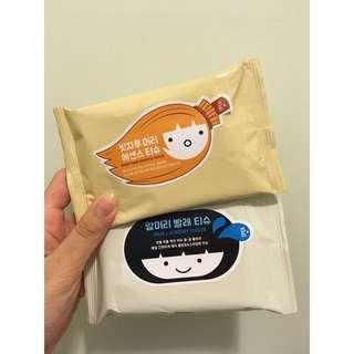 Apieu 頭髮專用吸油紙巾/ 頭髮專用精華紙巾