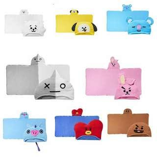 OFFICIAL BT21xOliveYoung Hooded Towel