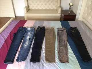 pants for sale 250each