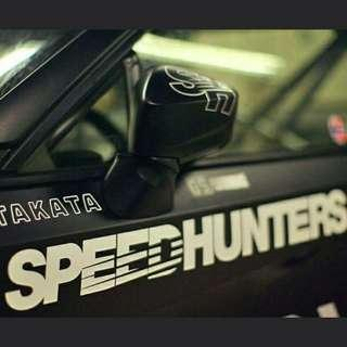 SpeedHunters Escooter/Car Vinyl Decal