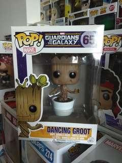 Funko Pop Dancing Groot vinyl figurine
