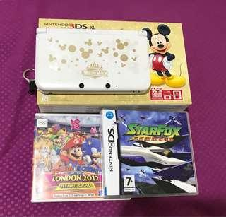 Nintendo 3DS XL Mickey Edition